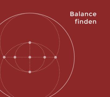 Gesundheitscoaching - Balance finden